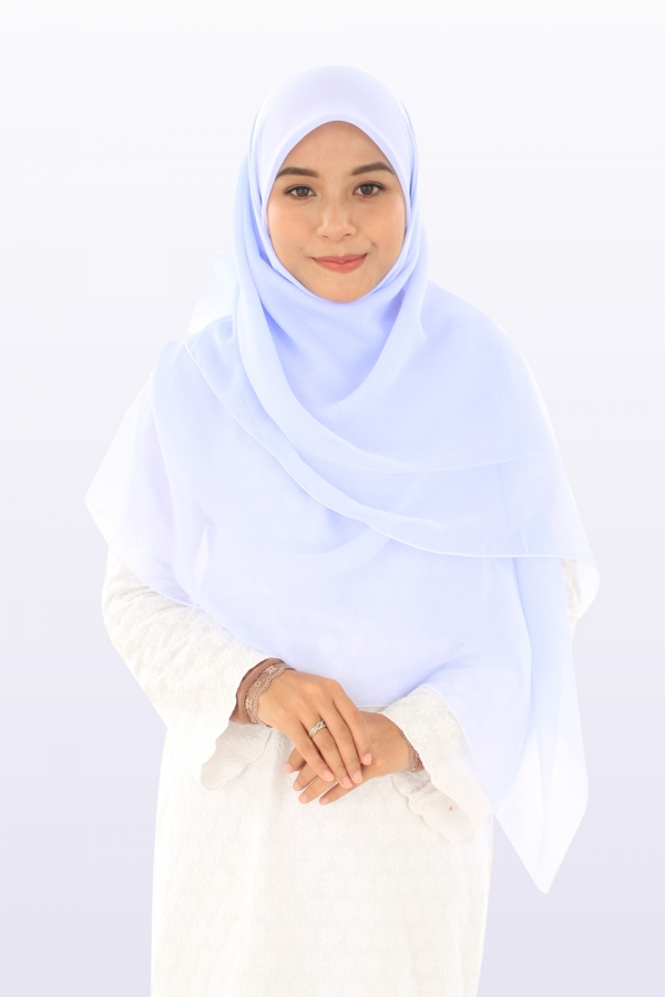 Bawal Hasna Aulia - White Blue