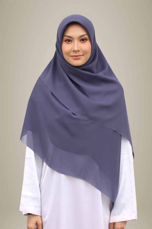 Bawal Hasna Khadijah - Purple Blue