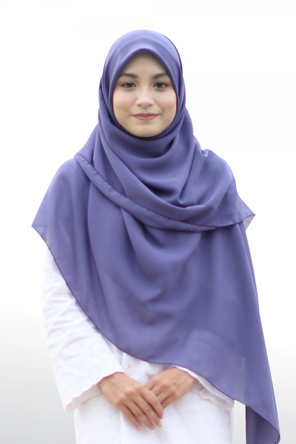 Bawal Hasna Hawa - Purple Blue